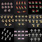 Charm 10Pc 3D Rhinestone Crystal Alloy DIY Decoration Tips Nail Art Stickers Hot