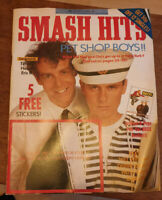 Smash Hits Magazine 1988 - Pet Shop Boys, Tiffany, Bros, INXS, Patsy Kensit