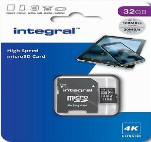 32GB U3 Micro SD Card Memory TF Class 10 For IP Security CCTV Camera (4K Video)
