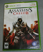 Assassin's Creed II for Microsoft Xbox 360 COMPLETE TESTED & WORKING Game