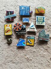 11 Pin's Pins Divers