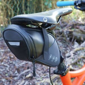 Bike Saddle bag Weather Resistant Reflective Tail pack MTB Trail Road Commuting