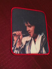 Elvis Presley Cloth sew on Patch 1978   New With free Elvis photo + Coasters