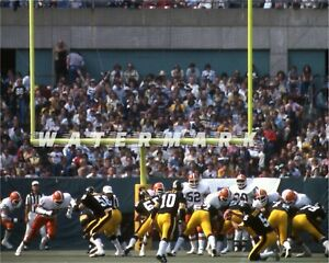 BROWNS at PITTSBURGH 1978 PRINT FROM NEGATIVE (comes in 3 sizes)