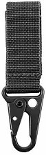 Tactical Key Clip - Black or Coyote Brown Duty Belt Utility Clips Rothco 2750