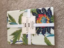 NEW Williams-Sonoma IZNIK Bright Floral Kitchen Towels Set of two 100% Cotton
