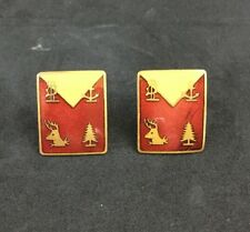 US ARMY 143rd Infantry Unit Crest DUI - VINTAGE