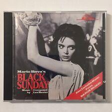 Mario Bava Black Sunday Soundtrack CD Les Baxter Baron Blood Bay Cities OOP