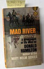 Mad River, Donald Hamilton, PB, Paperback, 1956, 1st printing
