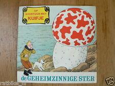 LP KUIFJE DE GEHEIMZINNIGE STER FLEXI LP 7 INCH, VINYL TIN TIN 33,5 RPM TINTIN