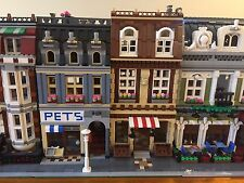 Lego Custom Modular Bakery MOC Cafe Corner Green Grocer