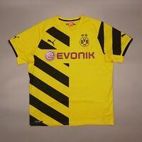 Borussia Dortmund 2014 2015 Home Football Soccer Shirt Jersey Puma Kit Camiseta