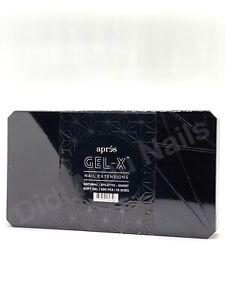Apres GEL-X nail extensions ✨ NATURAL STILETTO SHORT 🔥SOFT GEL 500 PCS 10SIZES