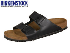 BIRKENSTOCK real  LEATHER or Birkoflor Upper ,Gizeh or Arizona Black 4vt3556m8ki