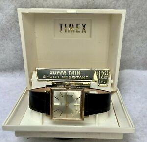 Vintage 1965 Timex Men's Wristwatch, New-Never Worn 53402365