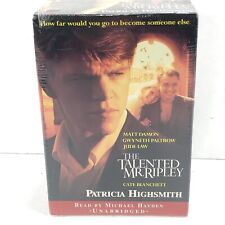 The Talented Mr. Ripley by Patricia Highsmith (Audiobook, Unabridged) Sealed
