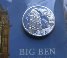 £100 Coin Big Ben Silver Coin Limited Edition 2015 - Royal Mint
