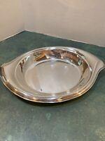Vtg 1847 Rogers Silver FLAIR Serving Dish International Silverplate Nut Bowl