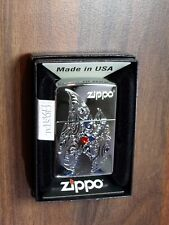 "ZIPPO "" flame avec crystal "" - Scintillant Rouge petites pierres -"