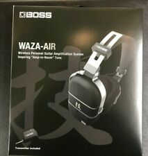 Boss Waza-Air Headphones Wireless Personal Guitar Amplification System - USED