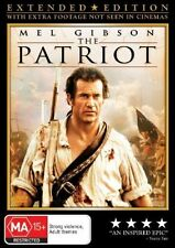 The Patriot DVD BEST CINEMATOGRAPHY MEL GIBSON Heath Ledger BRAND NEW SEALED R4