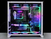 Custom Hardline Liquid Cooled Gaming PC - i9 9900k 5.20GHz - RTX 2080 Ti - 32GB