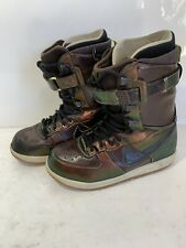 Nike Zoom Force 1 Snowboard Boots 334841-002 Iridescent Opal RARE - Mens 10.5
