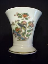 Wedgwood Kutani Crane bone china posy pot  R4464