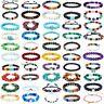 7 Chakra Healing Beaded Bracelets Natural Lava Stone Diffuser Bracelets Jewelry