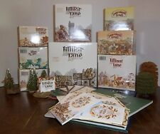 LOT OF LILLIPUT LANE & DAVID WINTER COTTAGES IN BOXES W/ DEEDS / BOOKS / EXTRAS