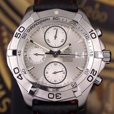 Authentic TAG Heuer Aquaracer 300M CAF2111 Chronograph Automatic Mens Watch
