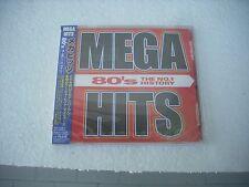 80'S THE NR. 1 HISTORY / MEGA HITS - Various artists - JAPAN 2CD