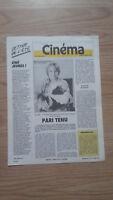 Revista Semanal Cinema Semana de La 1erA 21 Julio 1987 N º 405 Buen Estado