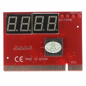 Laptop motherboard mini PCI fault diagnosis card LED 4 bit test analyzer