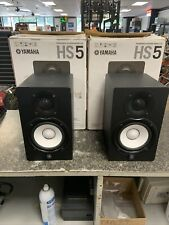 Yamaha Hs5 Powered Studio Monitor Pair In Black -*Ships In Original Boxes* Hs-5