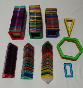 Magformers 170 piece Lot Magnetic Building Set Assortment
