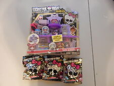 NEW Monster High Minis High School House Playset with 3 Series 1 Blind Bags