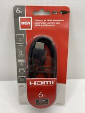 Rca Vh6Hhr Hdmi Cable (6ft) - Tv, Projector & Home Theater Accessories New 1.345