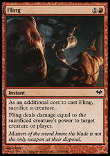 MTG 4x FLING - SCAGLIARE - DKA - MAGIC