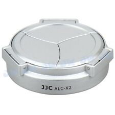 JJC ALC-X2 Self Retaining Auto Open Close Lens Cap for Leica X1 X2 Camera Silver