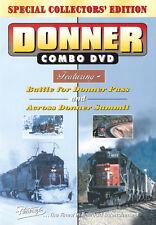 Donner Combo Pentrex Railroad DVD New