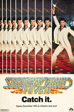 Saturday night fever John Travolta movie poster print #4