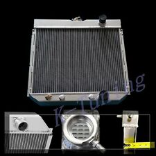 3 CORE RADIATOR FIT FIT 67 68 69 FORD MUSTANG Base Fastback 3-ROW ALL ALUMINUM