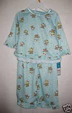"NWTCarters unisex sz 12mo 2-pc ""teddy bear"" long sleeve sleepwear"