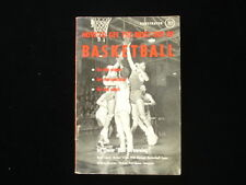 "1949 How To Get The Most Out Of Basketball by Omar ""Bud"" Browning EX+"