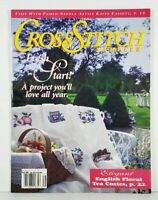 Cross Stitch Sampler Magazine Fresh Start 1993