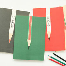 """""""Thinking"""" Exercise Book Pack of 4 Lined Notebook Workbook Journal Study Planner"""