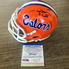 Tim Tebow Signed Speed Mini Helmet Florida Gators Auto PSA/DNA COA