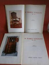 """Morazzoni G. """"Il mobile veneziano del '700"""" - 2 voll – Gorlich, 1958."""