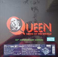 QUEEN - News Of The World - JAPAN 40th Anniversary Edition BOX Vinyl SHM CD rare